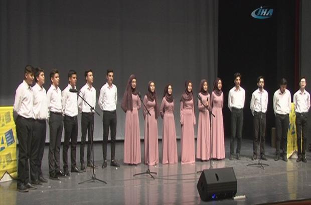 Hacı Ahmet Arısoy Lisesi'nden Mevlid Kandili Programı