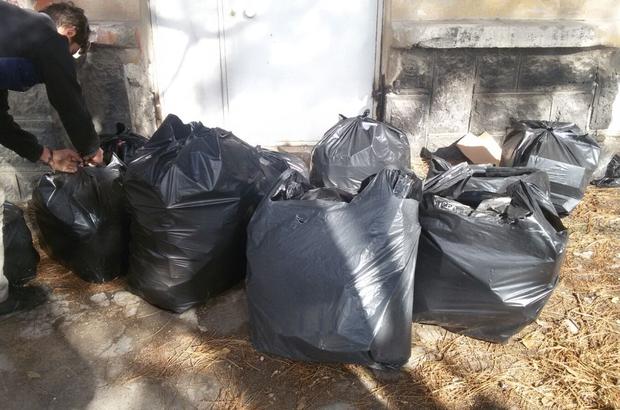 Suriyeli zanlı 6 bin 250 paket kaçak sigara ile yakalandı