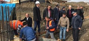 Gökçebey'de 20 yataklı hastanenin temel atma töreni gerçekleştirildi