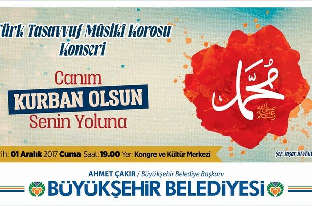 Büyükşehir'den Mevlid Kandili programı