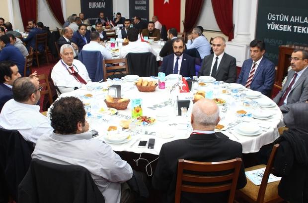 Mısırlı iş adamları MÜSİAD Konya'da iş formuna katıldı