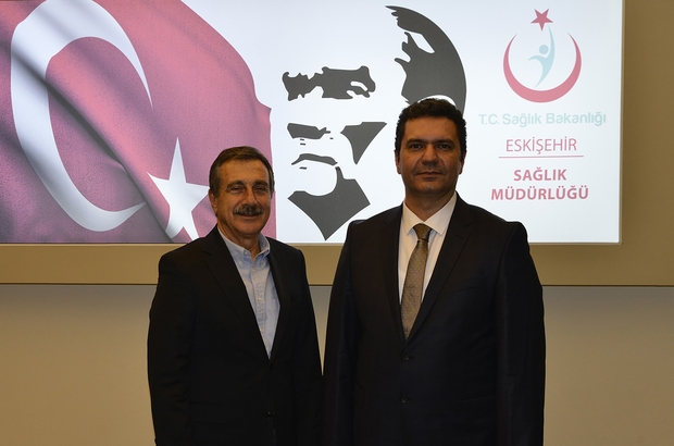 Başkan Ataç'tan İl Sağlık Müdürü Bilye'ye ziyaret
