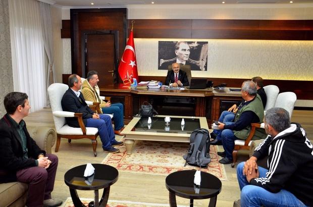 Didim Çalışan Gazeteciler Cemiyetinden Vali Köşger'e ziyaret