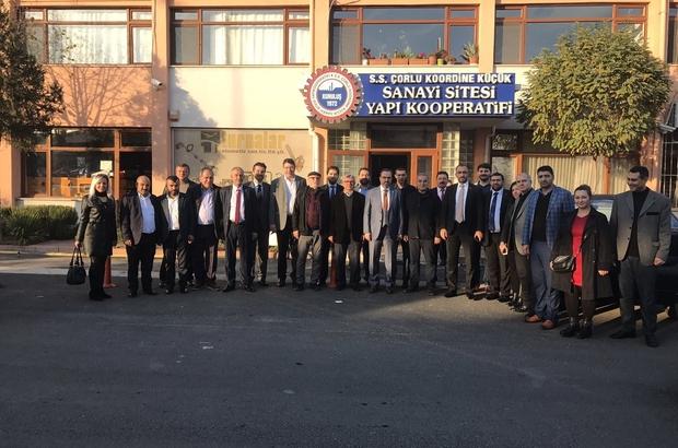 AK Partili Yel'den Çorlu temasları
