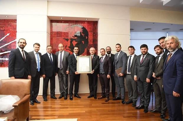 DİGİAD yönetimi Kılıçdaroğlu'nu ziyaret etti