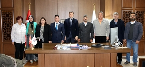 Başkan Akay, BBP Çerkezköy İlçe Yönetim Kurulu'nu makamında ağırladı