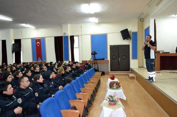 POMEM öğrencilerine ilk yardım eğitimi verildi
