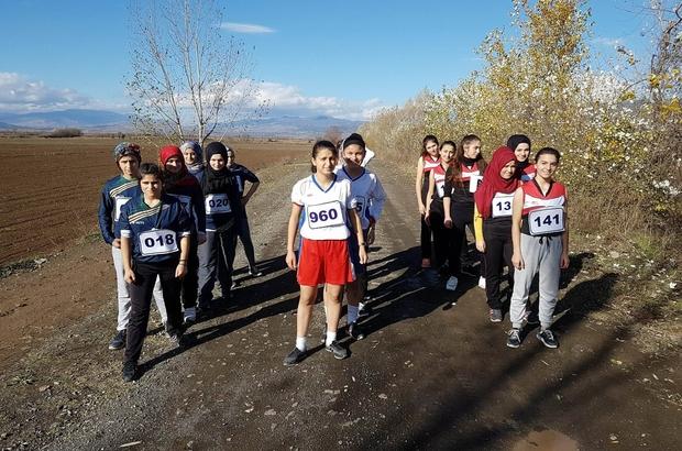 Erbaa'da kros yarışması