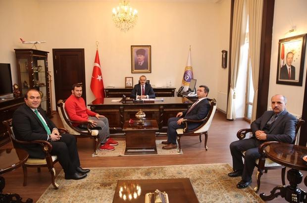Milli güreşçi Fatih Başköy'ün hedefi olimpiyat şampiyonluğu