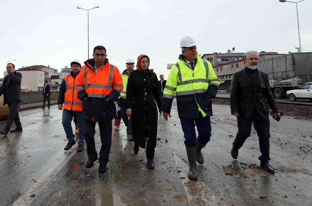 Başkan Karaosmanoğlu, çalışmaları yerinde inceledi