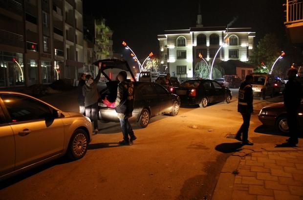 Huzur 64 uygulaması kapsamında 15 kişi tutuklandı