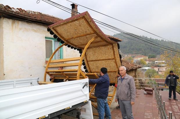 Kırsal mahallere hizmet tüm hızıyla devam ediyor