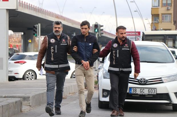 6 bin 250 adet kaçak sigara ile yakalanan Suriyeli adliyeye sevk edildi