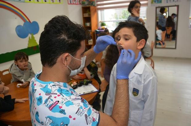 Başak Koleji'nde genel diş sağlığı semineri yapıldı