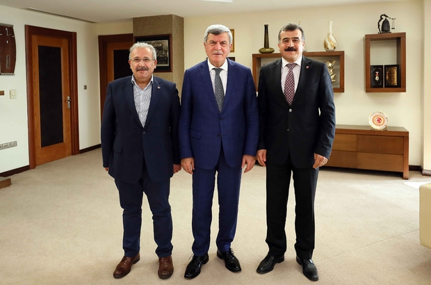 Başkan Karaosmanoğlu, Birleşik Metal-İş Sendikası ile bir araya geldi