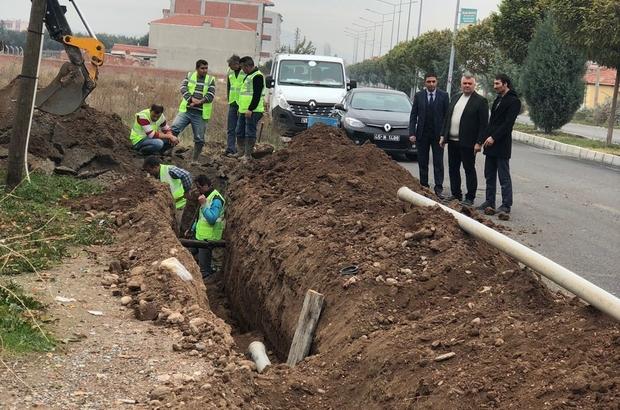 Akhisar'da altyapı ihtiyaçları giderildi