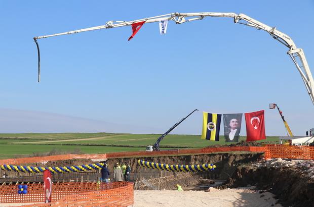 Edirne Fenerbahçe Evi'nin temeli atıldı