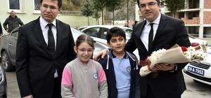 Vali Memiş, Kürtün ilçesinde incelemelerde bulundu