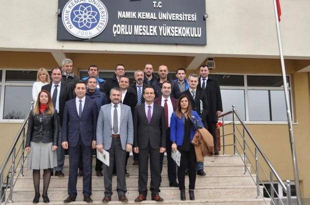 Çorlu Meslek Yüksekokulu ile 14 yetkili servis arasında işbirliği protokolü imzalandı