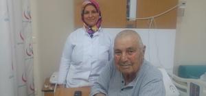 Vatandaşlar hastane hizmetiyle ilgili memnuniyetlerini dile getirdi