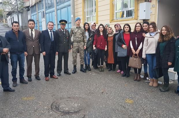 KYK yönetimi ve öğrencileri şehit aileleriyle bir araya geldi