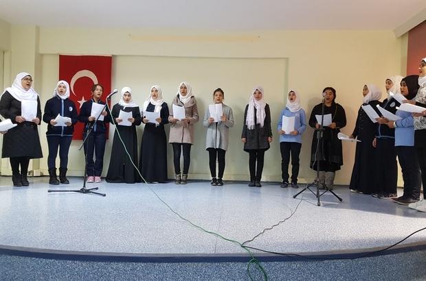 Eyüp Gökçeimam Anadolu İmam Hatip Lisesinden Mevlit Kandili Programı