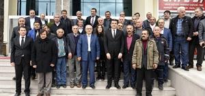Kürtün'de muhtarlar toplantısı yapıldı