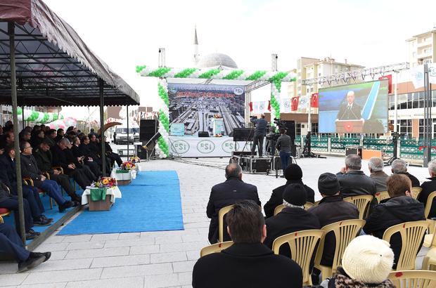 Orman ve Su İşleri Bakanlığı Toplu Açılış Töreni