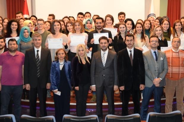 ESOGÜ'de girişimcilik eğitimi alan öğrencilere KOSGEB sertifikaları verildi