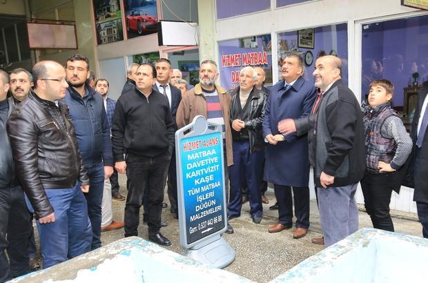 Başkan Gürkan esnaflarla bir araya geldi