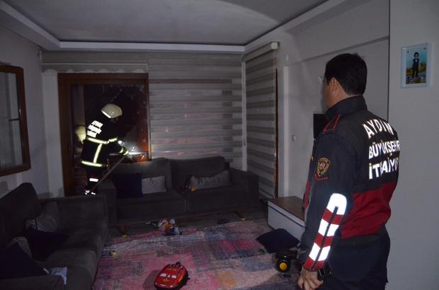 Söke'de evde tüp patladı: 1 yaralı