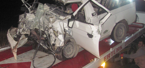 Gaziantep'te trafik kazası: 1 ölü, 2 yaralı