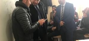 Kaymakam Özcan'dan şehit ailelerine ve öğrencilere ziyaret