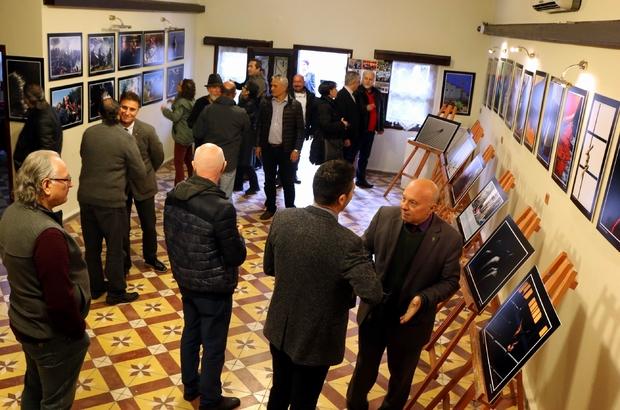 ydınlı sanatçılar Edremit'te fotoğraf sergisi açtılar