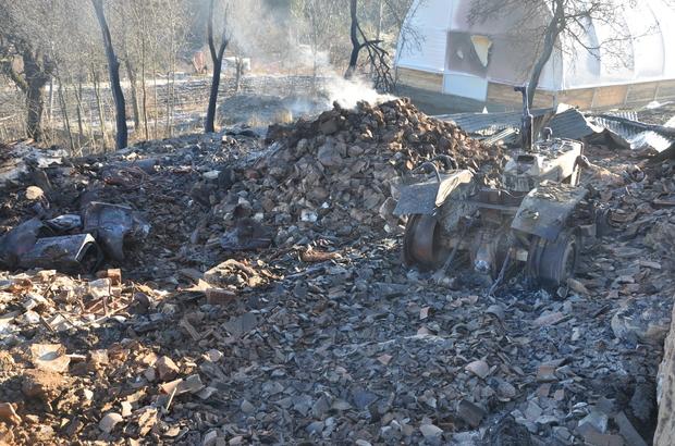 GÜNCELLEME - Kastamonu'da yangın