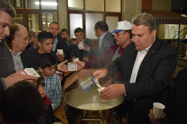 Yunusemre'de Mevlit Kandili programı