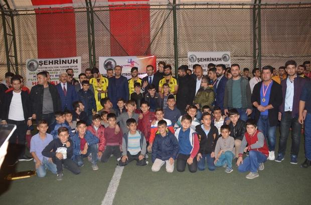 Şırnak'ta futbol turnuvası