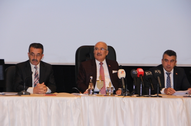 Mersin Büyükşehir Belediyesi'nin 2018 bütçesi 1 milyar 949 milyon lira