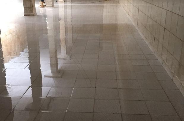 Tekirdağ'daki içme suyu depolarında temizlik ve dezenfekte çalışmaları