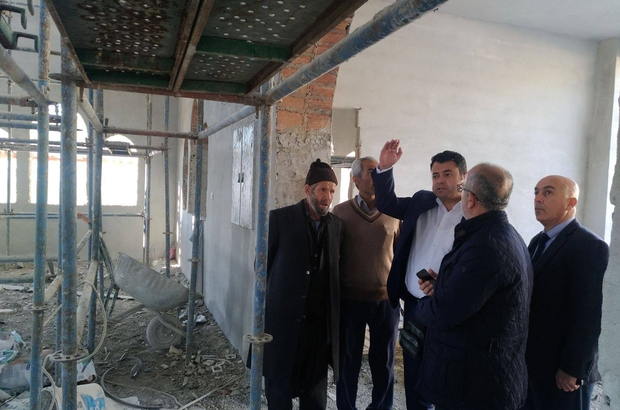 Aişe Camisinin yapımı hızla ilerliyor