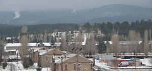 Erzurum ve Kars'taki kar yağışı