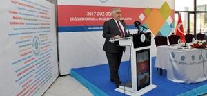 NEÜ Rektörü Şeker, 2017-2018 eğitim öğretim yılını değerlendirdi