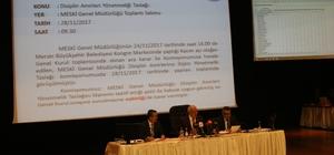 MESKİ'nin 2018 yılı bütçesi 683 milyon lira olarak kabul edildi
