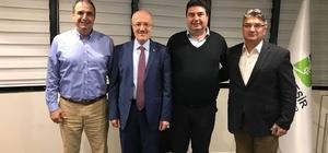 Başkan Gençer, Büyükşehir Başkanı Kafaoğlu Ayvalık için buluştu