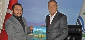 TÜGVA yönetim kurulu üyeleri Başkan Özdemir ile bir araya geldi