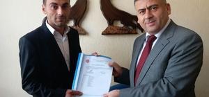 MHP Gelendost İlçe Başkanlığına Özbek, atandı