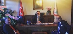 Başkan Arslan'dan İl Sağlık Müdürü Yazı'ya hayırlı olsun ziyareti