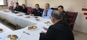 Develi'de 'Sosyal Destek Projesi' uygulama toplantısı yapıldı