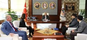 BM'den Başkan Baran'a teşekkür ziyareti
