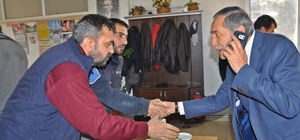 Başkan Özdemir sanayi esnafıyla yemekte buluştu